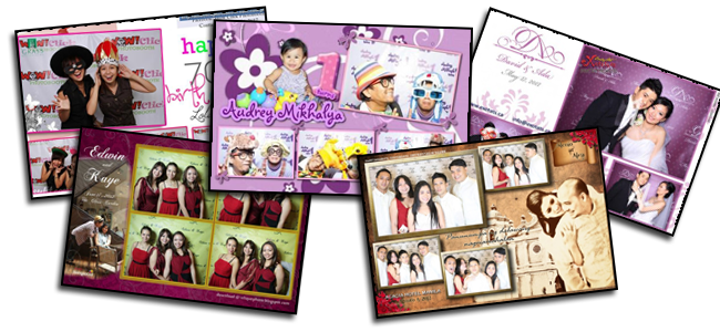 Customised Photo Layout - 4R Photo Layout
