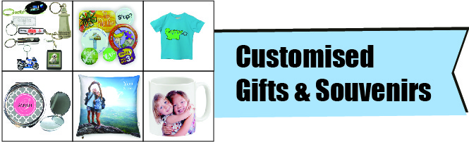 Photo Booth Services - Customised Gifts & Souvenirs