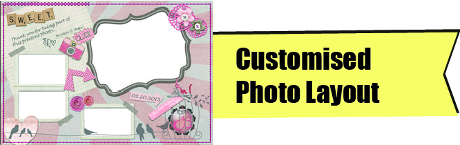 Customised Photo Layout