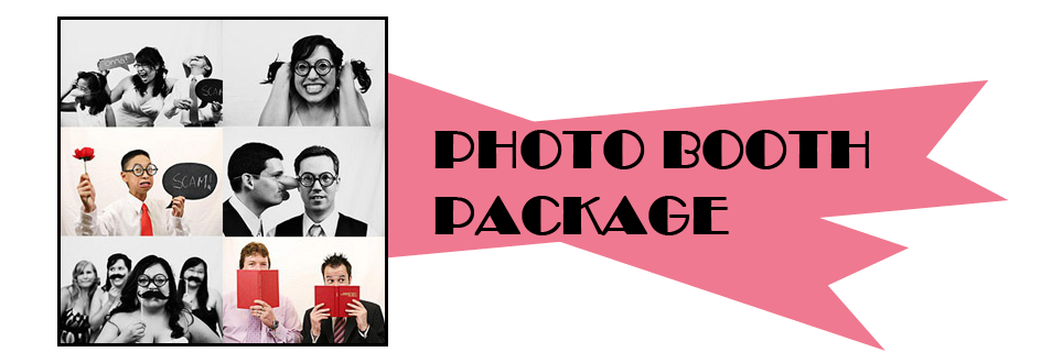Book Now - Photo Booth Package