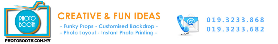 Photo Booth Rental for Weddings, Parties & Corporate Events, Malaysia